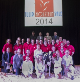 TULIP SALE 2014 AUCTION RESULTS