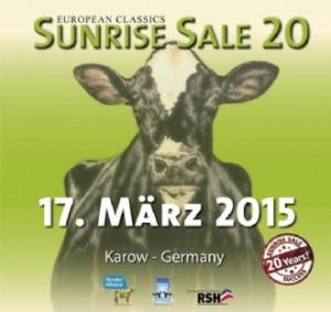 17 MAART SUNRISE SALE 2015