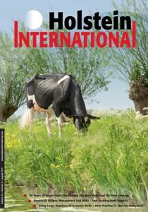 Luna covergirl Holstein International!
