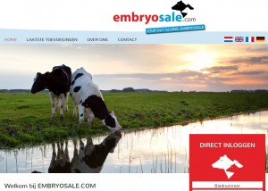 Nieuw: EMBRYOSALE.COM