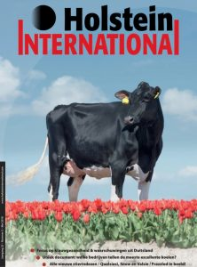 A-L-H Cranberry cover Holstein International!