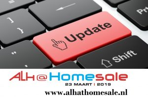 ALH at HOMESALE: VEILING UPDATES