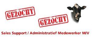 Gezocht: Sales Support / Administratief Medewerker !