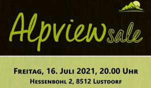 Alpview Sale Friday July 16
